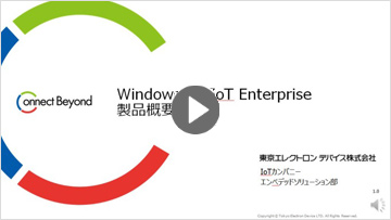 Windows 10 IoT Enterprise概要